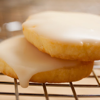 Glazed Orange Cookies