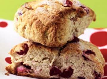Reduced Fat Fresh  Cranberry Scones