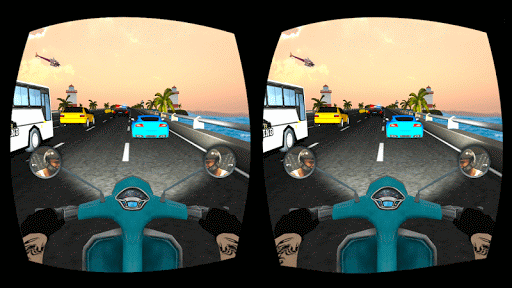 VR Ultimate Traffic Bike Racer 3D  screenshots 25