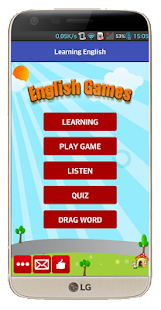 Learning English for kids Screenshot