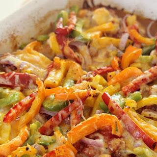 Healthy Chicken Fajita Bake
