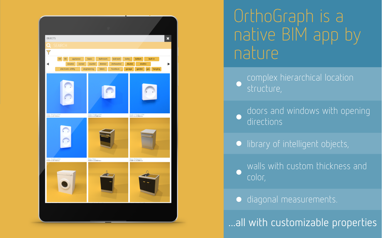 OrthoGraph I – Floor Plan & Building Survey- screenshot