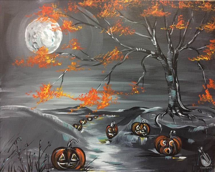 Couples Paint Halloween