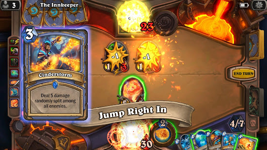 Screenshots of Hearthstone for iPhone
