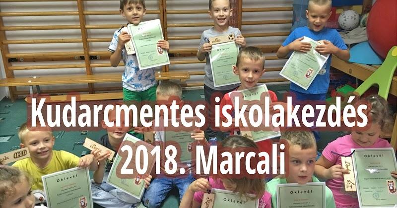 Kudarcmentes iskolakezdés 2018. Marcali