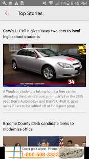 NewsChannel 34 Binghamton News- screenshot thumbnail
