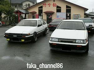 カローラレビン AE86 のカスタム事例画像 taka_channel86さんの2018年09月29日11:55の投稿