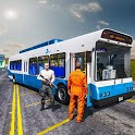 Offroad Police Bus Prisoner Transport icon