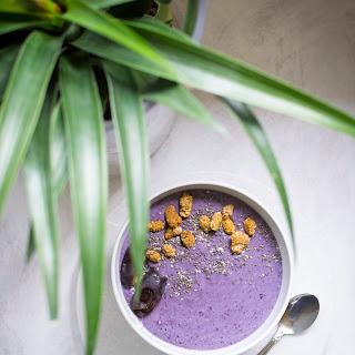 Blueberry Buckwheat Porridge.