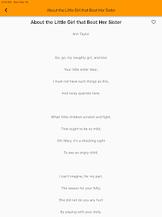 Rhyming Modern Poems Reader - Read Famous Poetry for PC-Windows 7,8,10 and Mac apk screenshot 6
