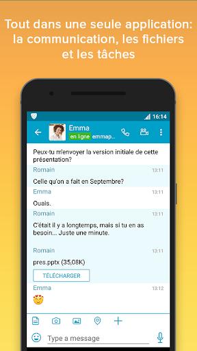 VIPole Secure Messenger screenshot