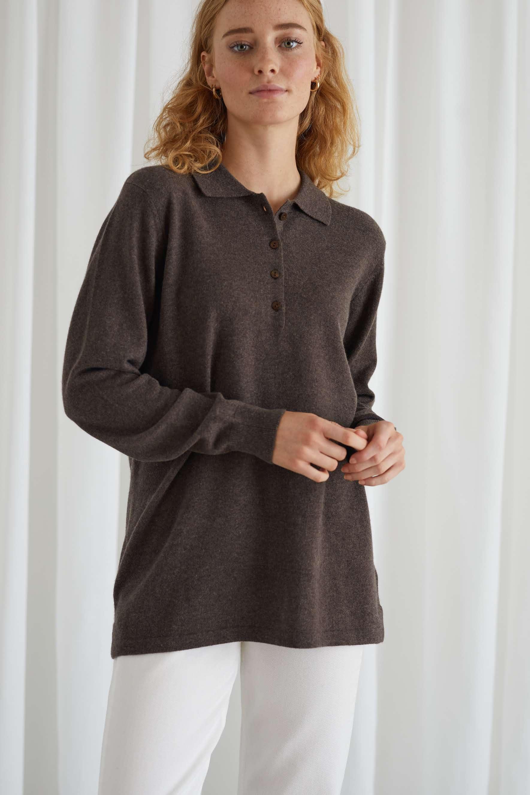 Collar Buttoned Shirt