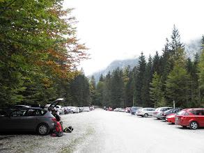 Photo: Parkiralište u Vratima je uredno popunjeno