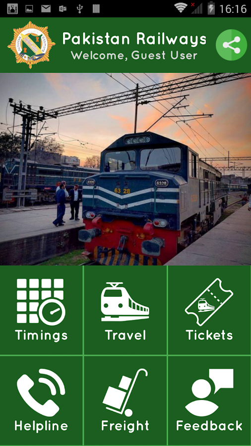 Pakistan Railways Official- screenshot