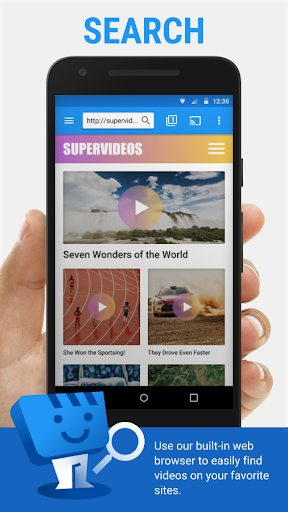 Web Video Cast | Browser to TV/Chromecast/Roku/+ 5.0.5 screenshots 1