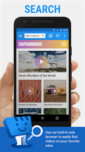 Web Video Cast | Browser to TV (Chromecast/DLNA/+) Screenshot