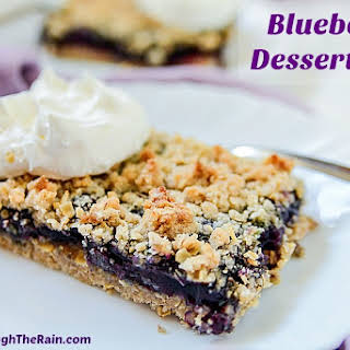 Blueberry Dessert Bars.