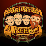Logo for 3 Guys and a Beer'd Brewing Company