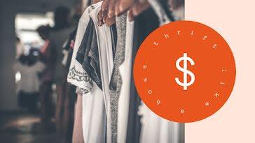Thrift Like a Boss - YouTube Thumbnail Template