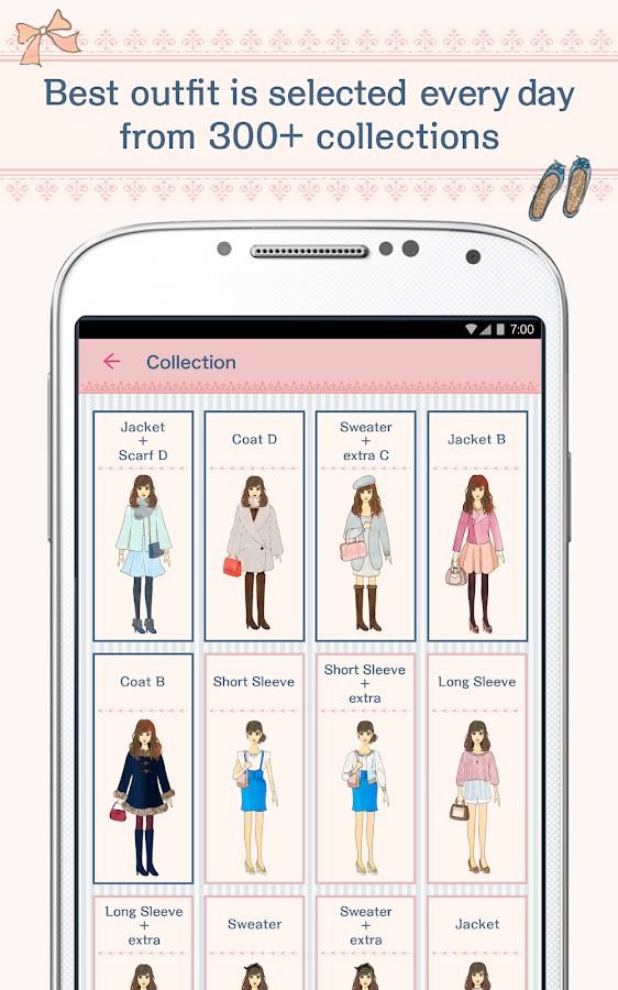 OshareWeather - For cute girls- screenshot