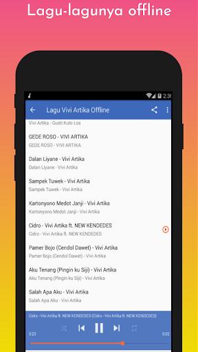 Lagu Vivi Artika Offline screenshot 4