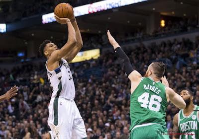 NBA : Antetokounmpo stoppe les Nets, la course aux playoffs serrée à l'Est