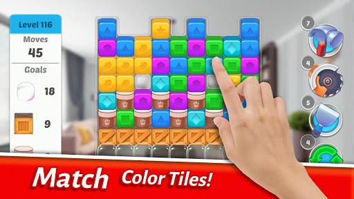 Home Designer - Match + Blast to Design a Makeover screenshots 4