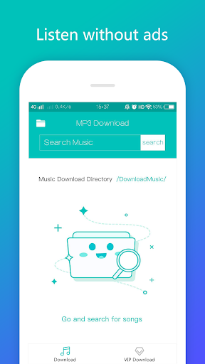 Screenshot for MP3 Music Downloader For VIP in United States Play Store