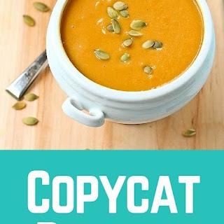 Copycat Panera Squash Soup.