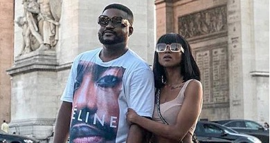 Nomuzi Mabena and Sbuda Roc are living their best lives in Paris.