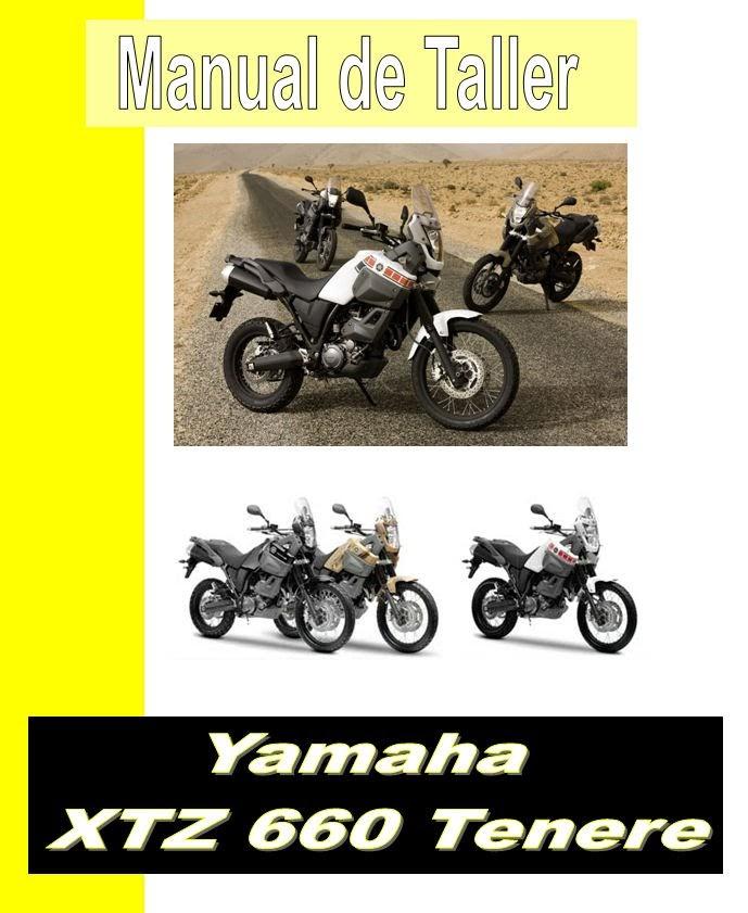 Yamaha XTZ 660  Tenere-manual-taller-despiece-mecanica