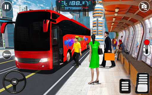 City Coach Bus Driving Simulator: Driving Games 3D android2mod screenshots 3