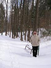 Photo: C4010011 Krynica - juz kwiecien a tu snieg