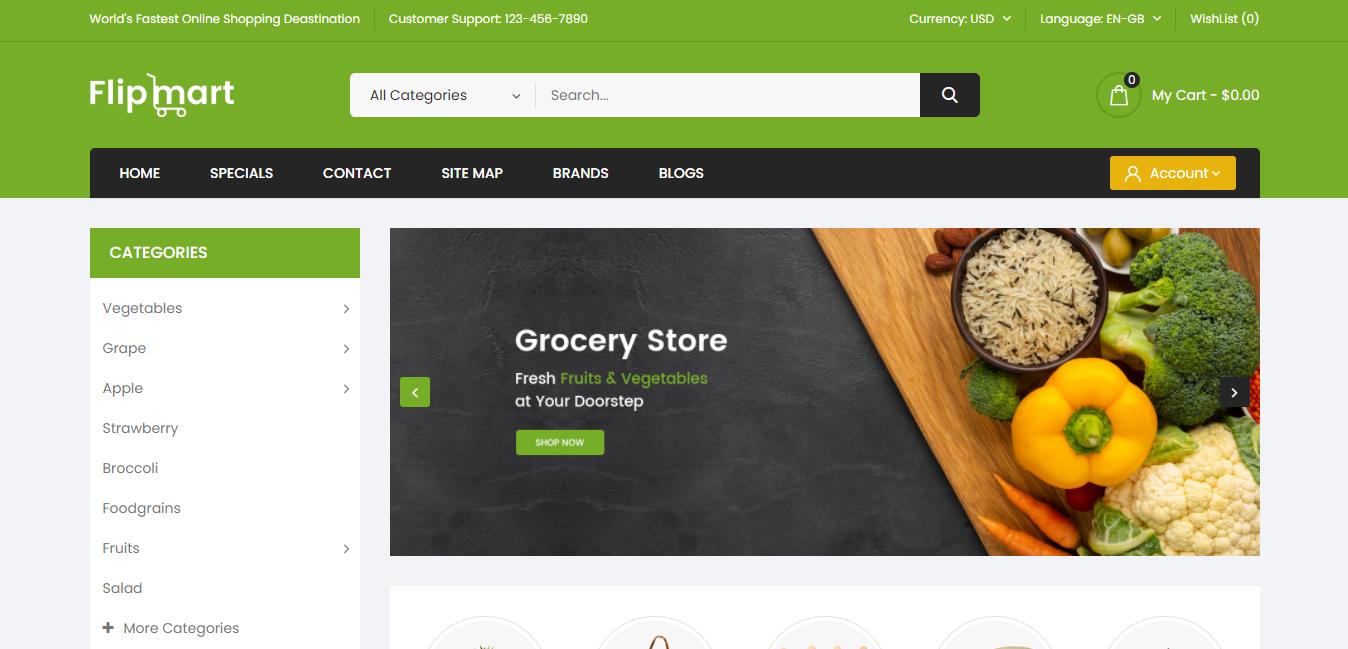 Flipmart - Opencart theme