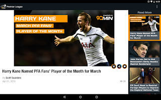 Screenshot of 90min - Live Soccer News App