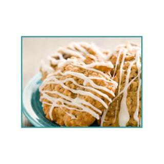 Glazed Oatmeal Raisin Cookies