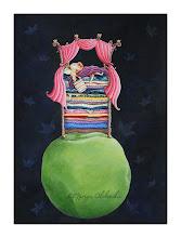 Photo: Princess and the Pea - Gouache + Acrylics - 2011