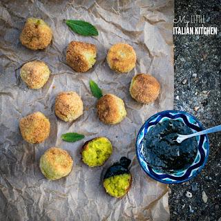 Pea, Mint and Ricotta Balls Recipe