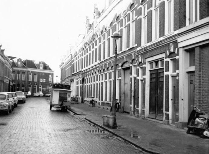 Marwixstraat oostzijde, ca 1968