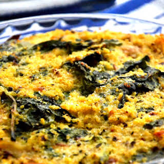 Quinoa Spinach Bake.