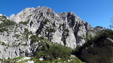 Photo: Plezališče v steni Mrzle gore