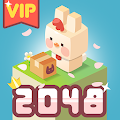 [vip] 2048 bunny maker - Bunny City Building APK