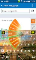 Screenshot of Tropical Keyboard