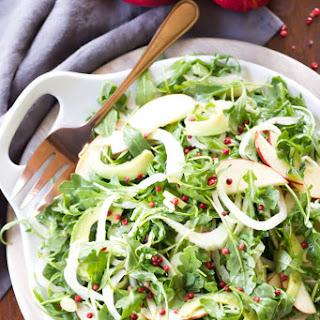 Apple, Fennel, & Avocado Salad