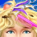Princess HAIR Salon Makeup Dress up Girl Games icon
