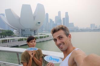 Photo: Drony à Singapour