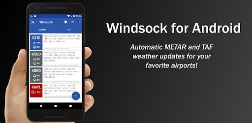 Windsock - METAR/TAF Automatique