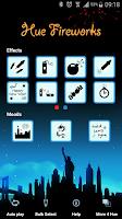 Screenshot of Hue Fireworks for Philips Hue