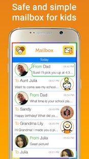 Tocomail - Email for Kids Screenshot 1