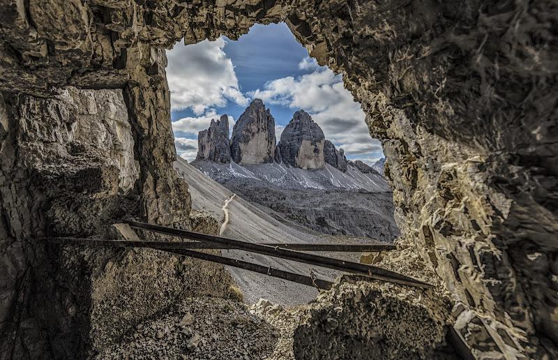una finestra sulle tre cime di Luca160